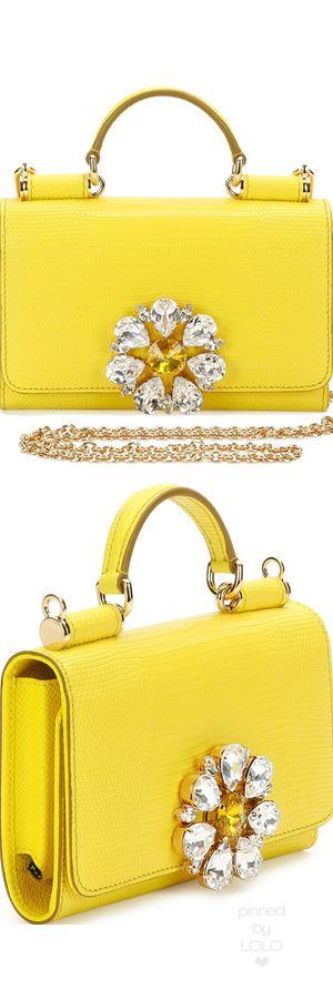 Dolce & Gabbana Miss Sicily Medium Lizard-Stamped Satchel Bag   LOLO❤︎