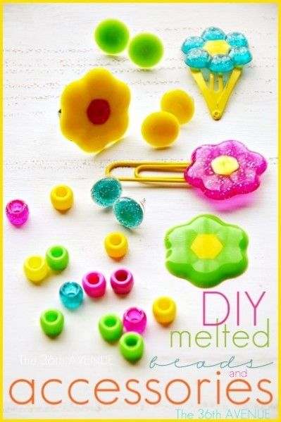 DIY Melted Bead Jewelry and Accessories