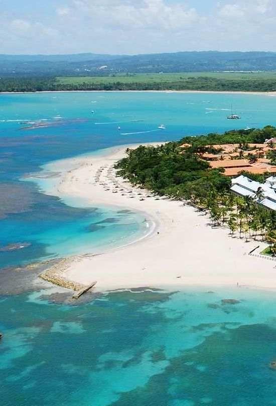 Playa Dorada Beach, north coast of Dominican Republic