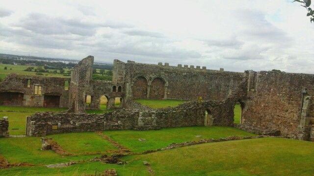 Haughmond Abbey in Uffington, Shropshire