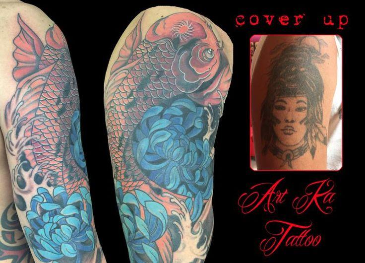 #coverup #coveruptattoo #tattoo #tatuaggio #colortattoo #artka #artkatattoo #oruiental #orientaltattoo #copertura #coperturatatuaggio #ink #inked #pinerolo #italy #pinerolotattoo #torino #torinotattoo #coverupidea