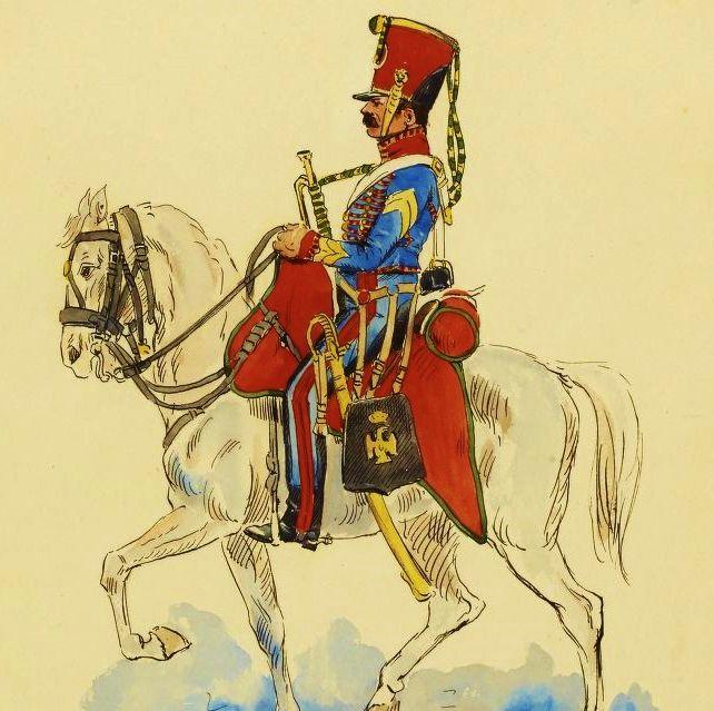 Trompette-major_des_chasseurs_à_cheval_de_la_Jeune_Garde_(1815).jpg (642×639)
