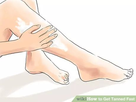 Get Tanned Fast Step