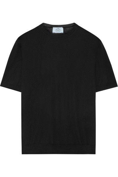 Prada - Wool Sweater - Black - IT42