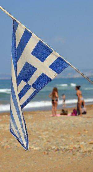 Inga spår av grekiska krisen.
