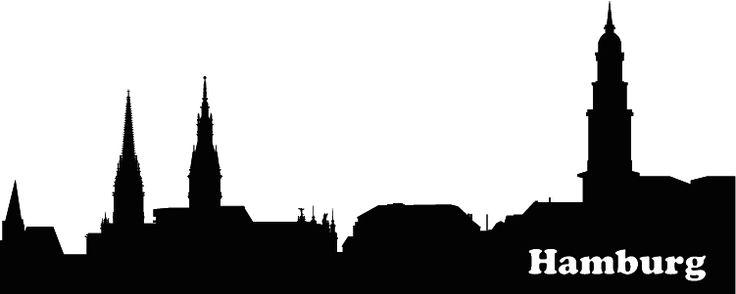 wandtattoo | Skyline Hamburg | selber gestalten