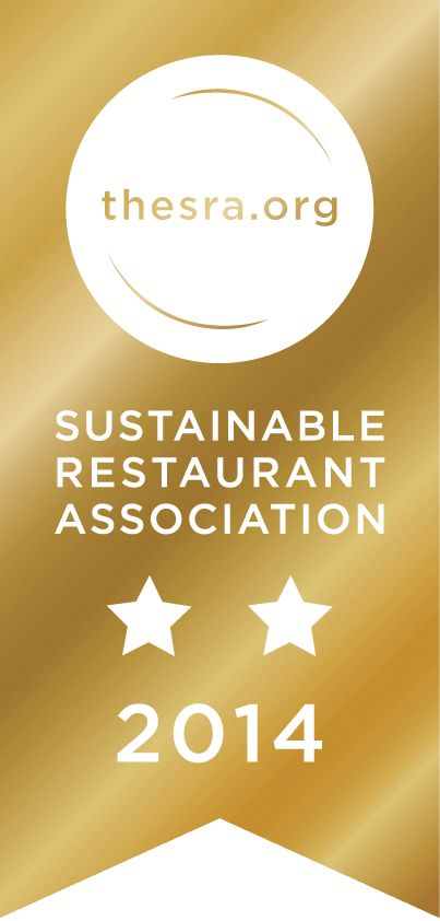 We put a lot of time and effort into doing things the right way at The Blue Boar, Witney, not just because we want to. That's why we're so proud to carry a two-star rating from The Sustainable Restaurant Association (SRA) in recognition of our work.