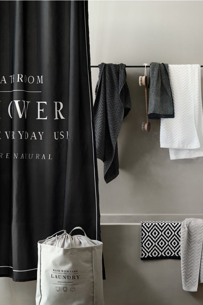 Text Print Shower Curtain Black Shower Curtains Black Shower Cool Shower Curtains