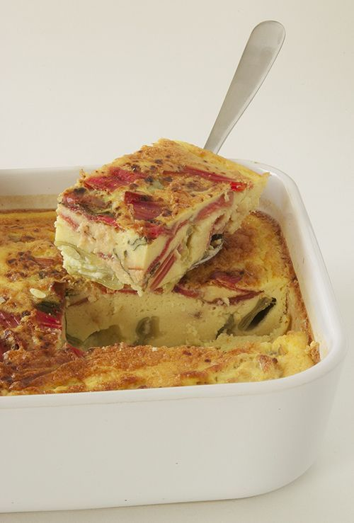 clafoutis legumes lait d'amande; Vegetable casserole using almond milk (recipe in french)