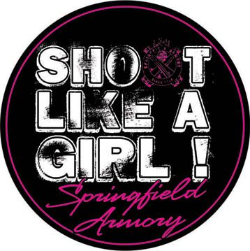 Shoot Like A Girl ~ Springfield Armory