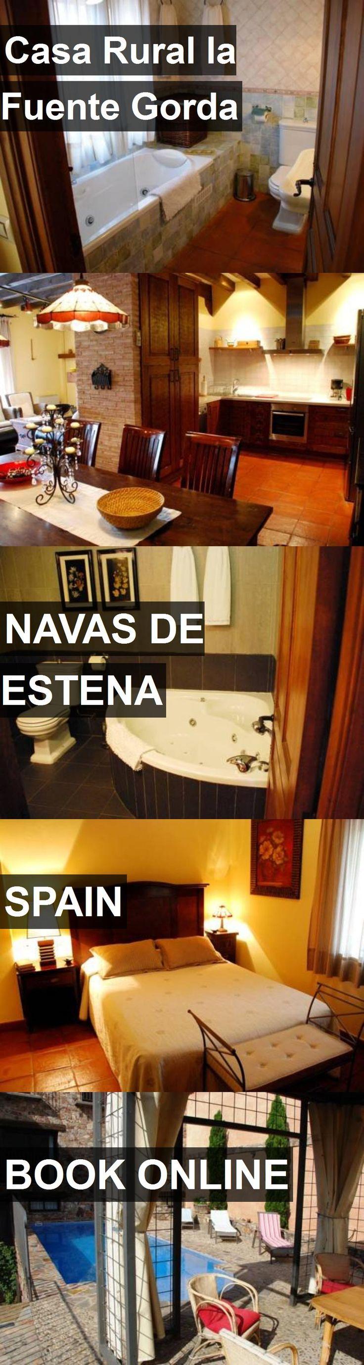 Hotel Casa Rural la Fuente Gorda in Navas de Estena, Spain. For more information, photos, reviews and best prices please follow the link. #Spain #NavasdeEstena #travel #vacation #hotel