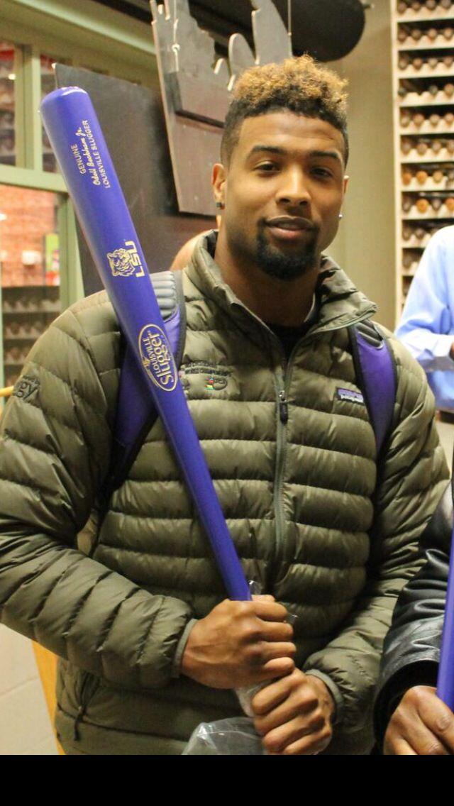 Odell Beckham Jr Louisville Slugger Baseball Bat