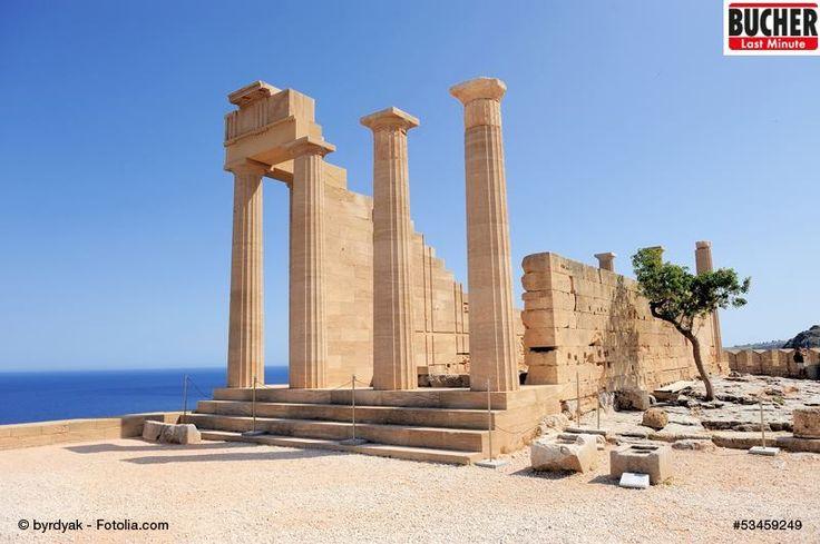 Hier stand mal ein Tempel oder? #rhodos #griechische #geschichte #tempel #abenteuer #bucherreisen