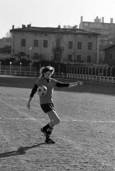 Rick Wright, playing football