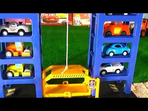 Мультик про машинки. Парковка. Игрушечные машинки