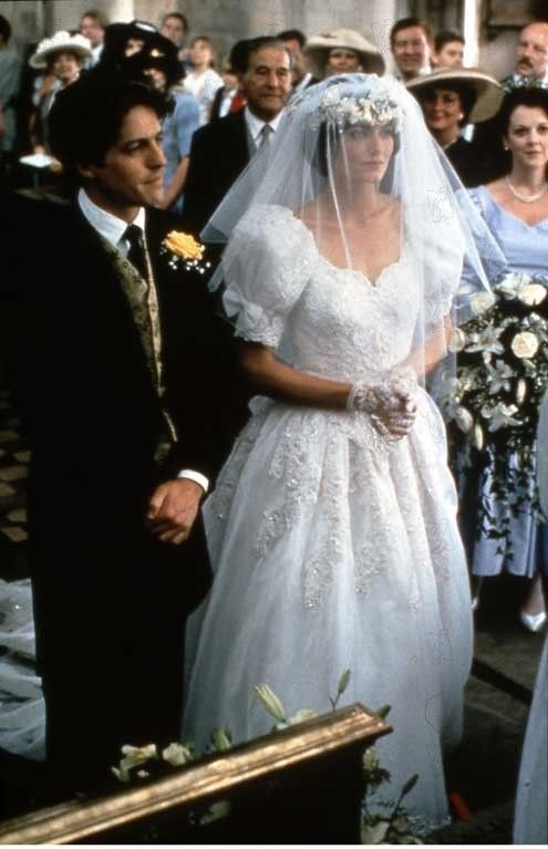 Hugh Grant And Anna Chancellor In Four Weddings A Funeral 1994