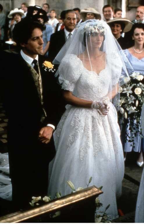 Four Weddings and a Funeral (Quatre mariages et un enterrement) - St. Bartholomew the Great - London | Movie wedding dresses, Wedding gowns, Wedding movies