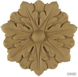 Rosette - Circle-Louis XVI - 5  7/8Diameter - 1/4Relief 5435