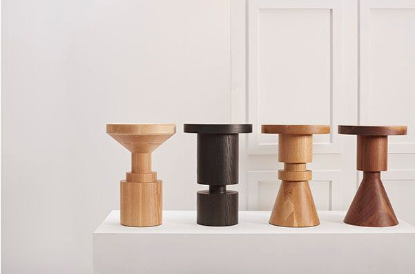 Wooden Chess Piece Stools Anna Karlin Collection 02