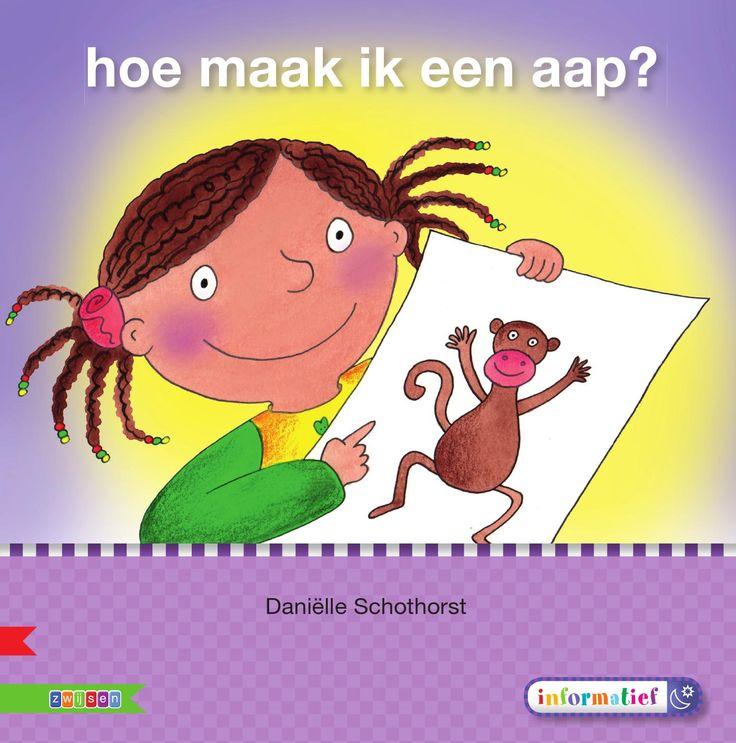 ISSUU - Hoe maak ik een aap? - Veilig leren lezen kim-versie by Uitgeverij Zwijsen BE (informatief boekje)