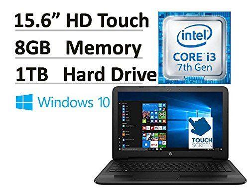 2017 HP Flagship 15.6 15-ay191ms HD Touchscreen Signature Edition Laptop  Intel Core i3-7100u 2.40 GHz 8 GB DDR4 Memory 1 TB HDD DVD Burner HDMI HD Webcam Bluetooth Win 10
