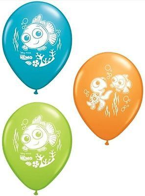 "10 pc 11"" Disney Finding Nemo Latex Balloon Party Decoration Happy Birthday"