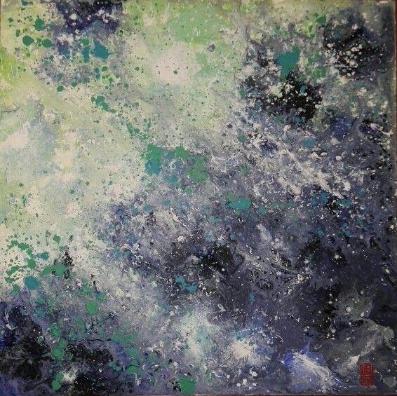 Astratto fluido n. 13.2016 #abstract #fluid #art #paint #acrylic #splash