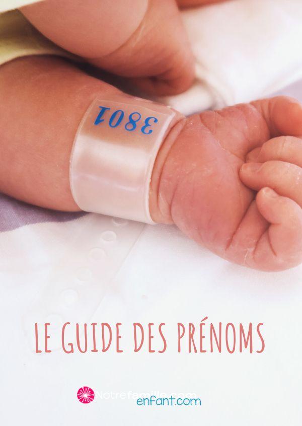 Des milliers d'idées pour le prénom de bébé