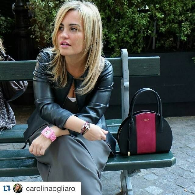 #Nanoblock Watch @ #PFW15 with Carolina Ogliaro