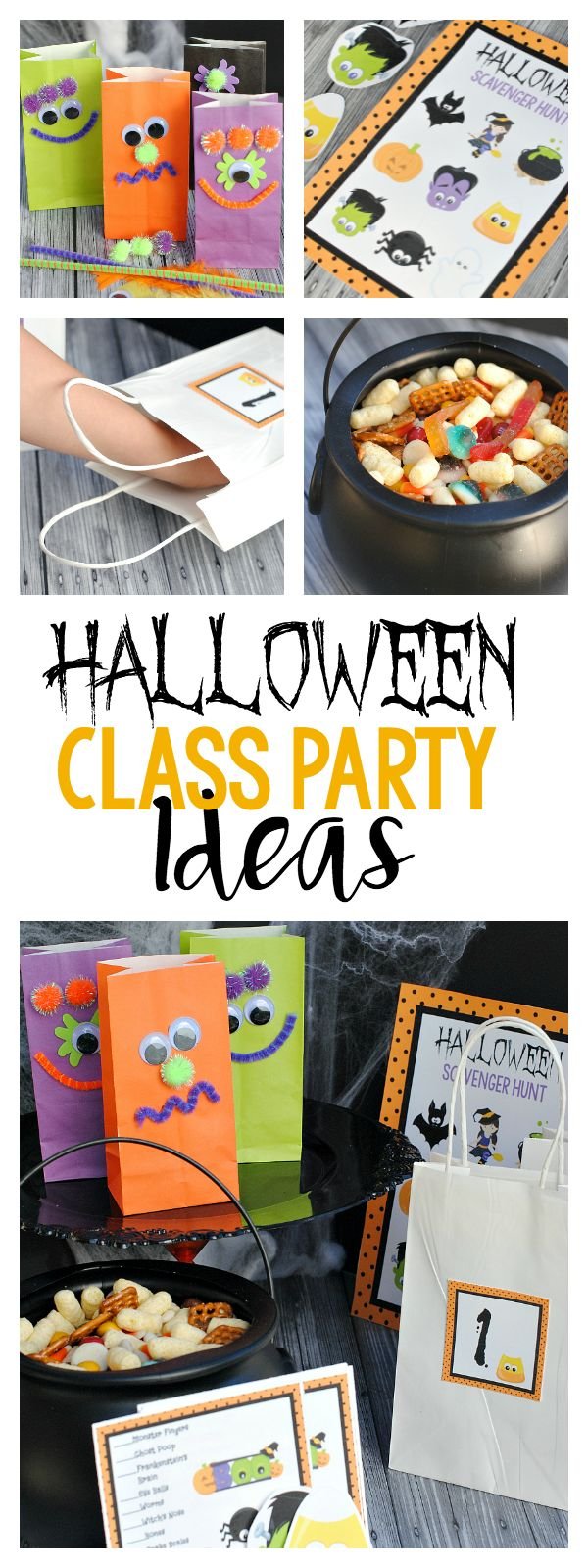 Easy Fun School Halloween Party Ideas