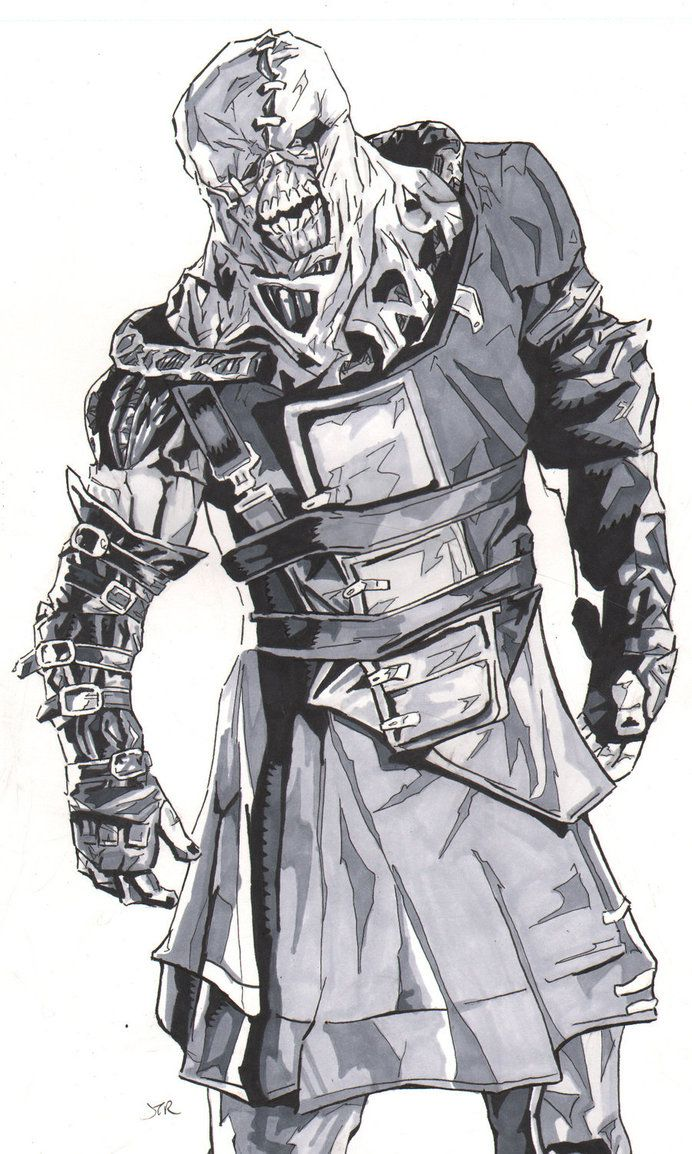 Resident+Evil+Sketches | Resident Evil Nemesis by ~monstercola on deviantART