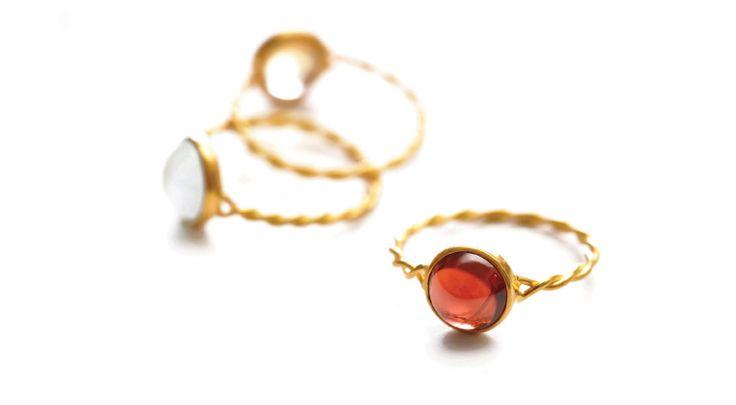 Adelline rings