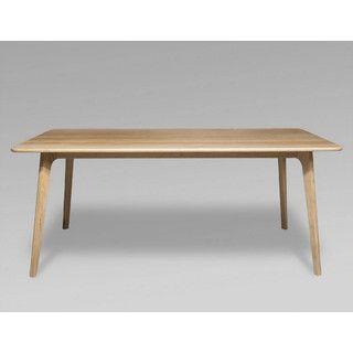 Retro Scandinavian Oak Dining Table 180L X 90W X 74H Modern Danish Furnit