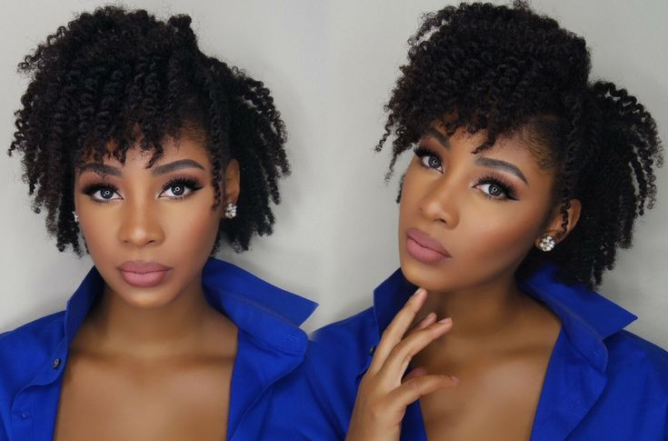 How to: super defined two strand twist out mohawk. Super cute!!
