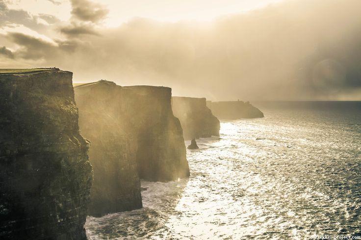 モハーの断崖、アイルランド@モハーの断崖   死ぬまでに行きたい!世界の絶景