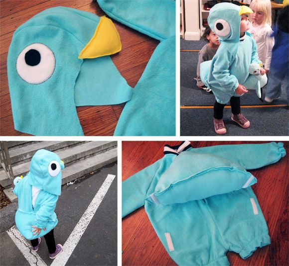 Pigeon costume which is most definitely taking part in Fancy Dress Fridays ;D