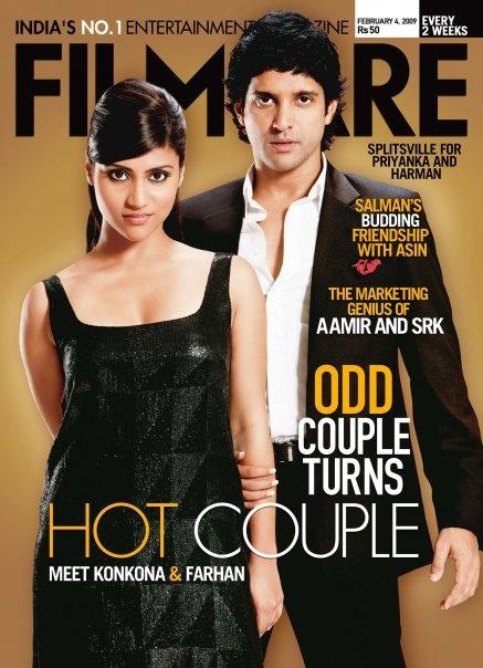 Konkona Sen Sharma and Farhan Akhtar. Love both of them! #Bollywood #Konkona #Farhan