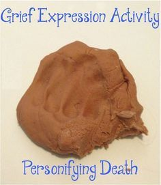 Creative Social Worker — Grief Expression Play Dough Activity (Personifying...