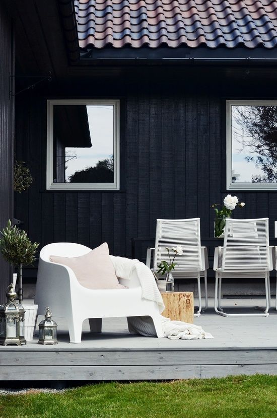 24 cool scandinavian porch designs to get inspired digsdigs outdoor pinterest stains - Lay outs deco tuin ...