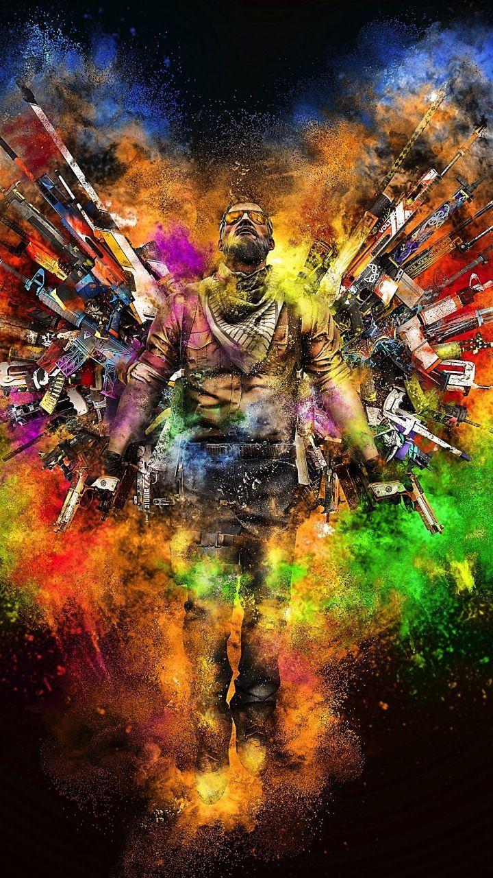 Counter Strike Global Offensive A Gunman Digital Art 720x1280 Wallpaper Counter Digit Cs Go Wallpapers Papeis De Parede Para Download Desenhos De Armas