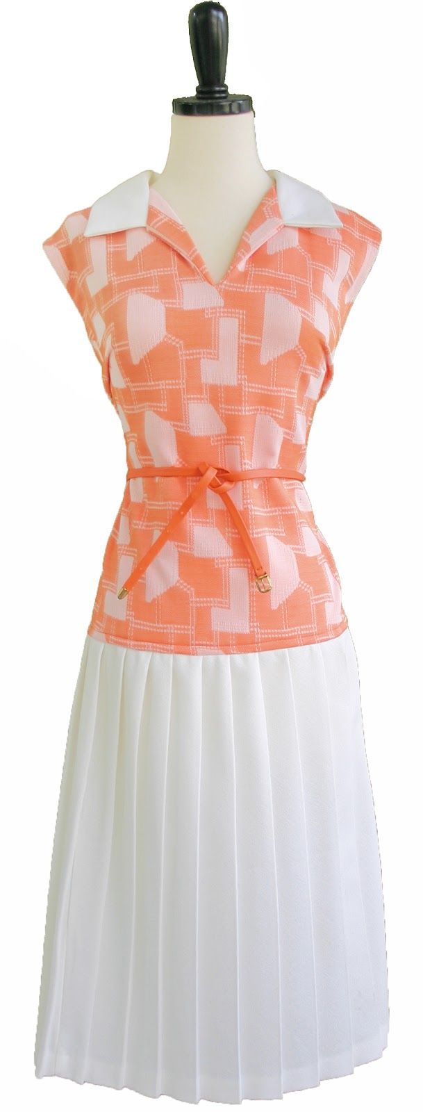 Retro Dress: Retro Ey Dress, Retro Dress, Style Inspiration, Peach Perfection, Style Pinboard, Clever Crafts, Craft Ideas