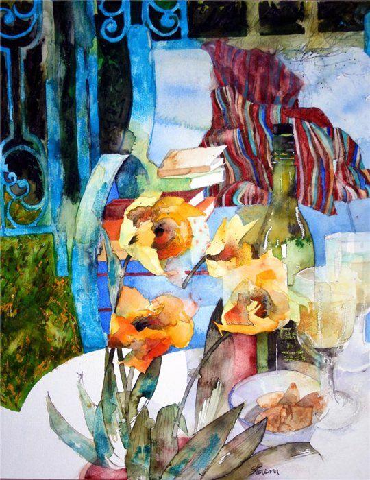 Экспрессивные акварельные натюрморты Shirley Trevena - Ярмарка Мастеров - ручная работа, handmade