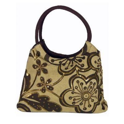 Accessories :: Handbags & Wallets :: Canvas bag with sequins - On sale $35
