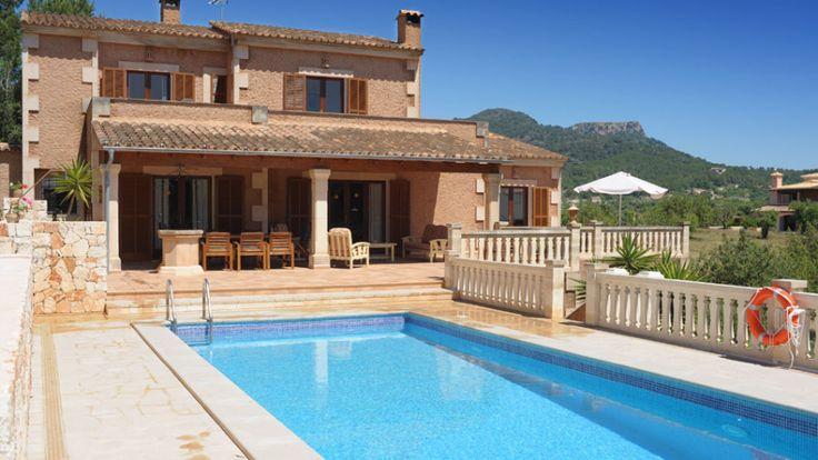 """#ALQUILER FINCA EN #MALLORCA """"ES TURÓ DE FRANÇA"""" en #Calador  #Casa #rural muy tranquila en Mallorca, esta es la mejor opción."""