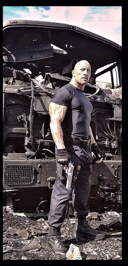 Fast and Furious 7: First Look at Dwayne Johnson as Hobbs