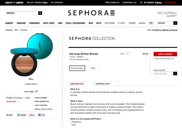 the popularity of sephora company on social media How do you predict maersk line's competitors will react to the company's success in social media 5  of sephora's digital and social media efforts as of the .