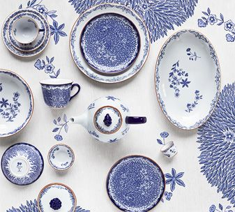 ostindia_floris_vanster -Rorstrand dinnerware Founded 1726 Stockholm, Sweden