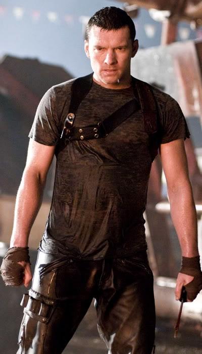 Sam Worthington in Terminator Salvation