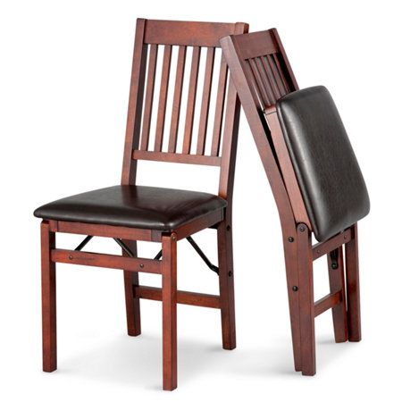 hamilton wood folding dining chairsset of 2