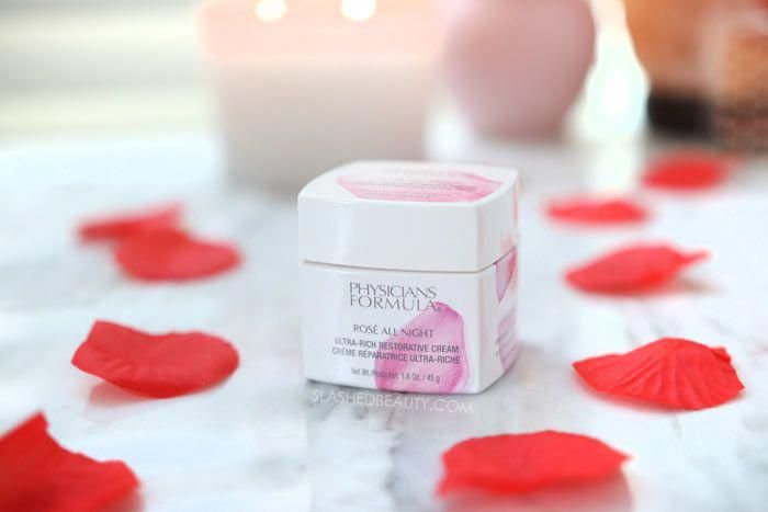 Drugstore Dry Skin Moisturizer: Physicians Formula Rosé All Night